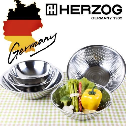 독일 헤르조그 스테인레스 믹싱보올 5종세트