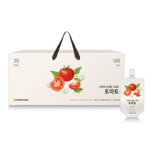 [천호식품] [NEW] 토마토 100mL x 30개입