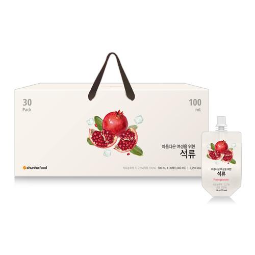 [신제품][천호식품] 석류 100mL x 30개입