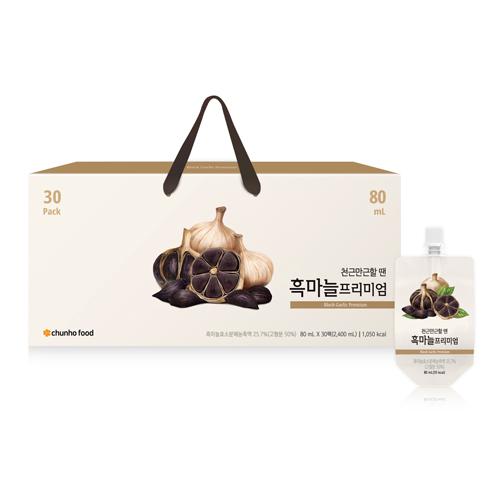 [신제품][천호식품] 흑마늘 프리미엄 80mL x 30개입