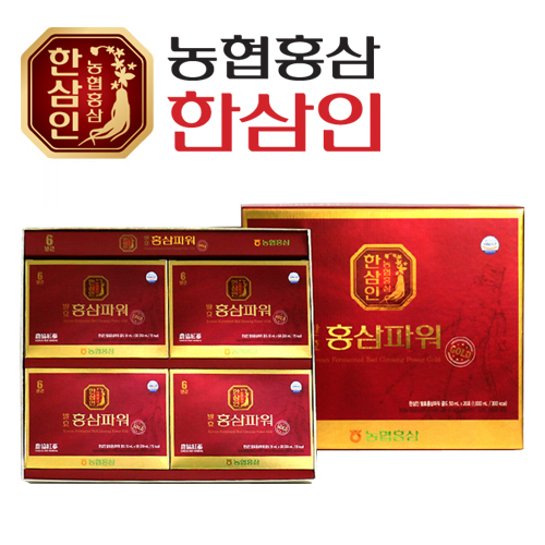 [농협 한삼인] 발효홍삼파워골드 50ml x 20포