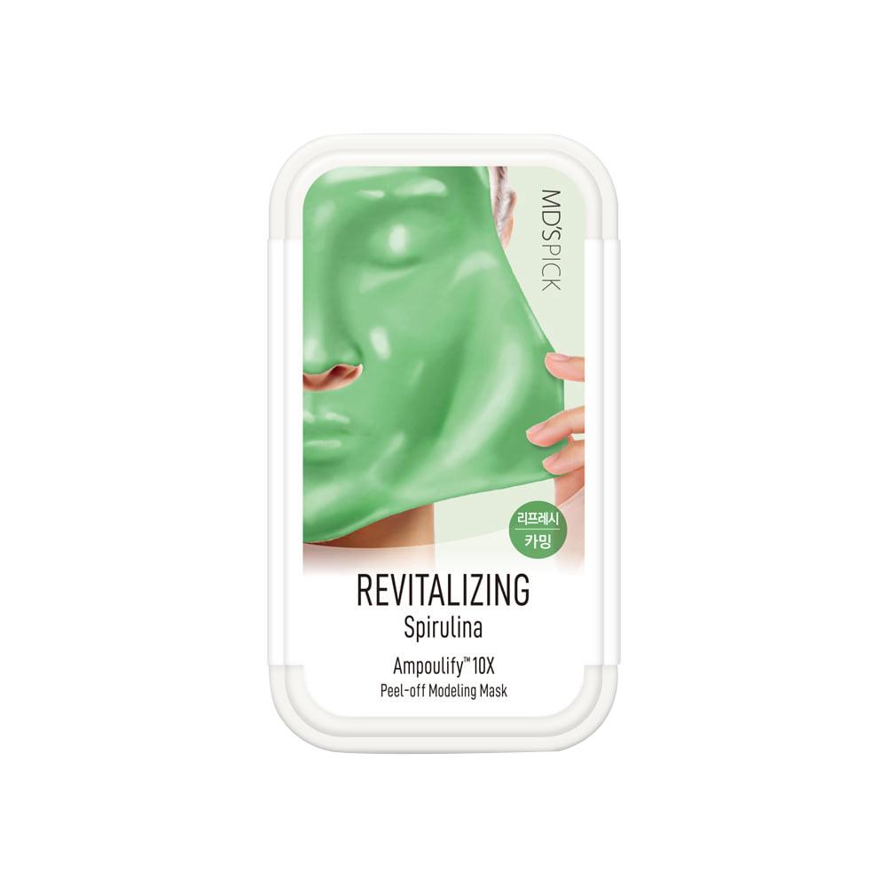 엠디스픽 앰풀리파이10X 리바이탈라이징 스피룰리나 모델링팩 5매