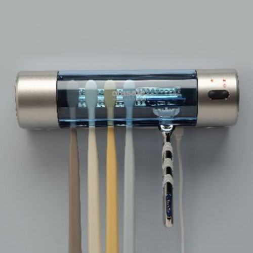 [유비세이프] 가정용 UV-LAMP 칫솔면도기 살균기 HCS-5000 (블루투스 내장)