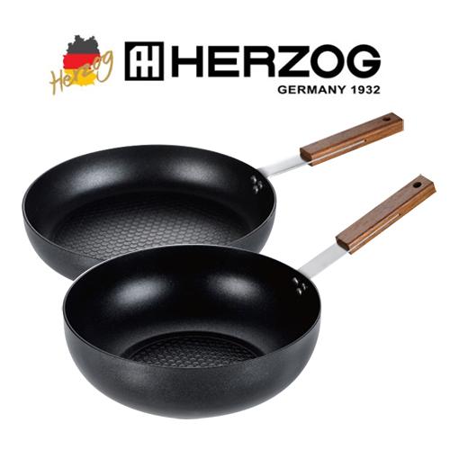 독일 헤르조그(HERZOG) IH 티타늄코팅 후라이팬 2종세트