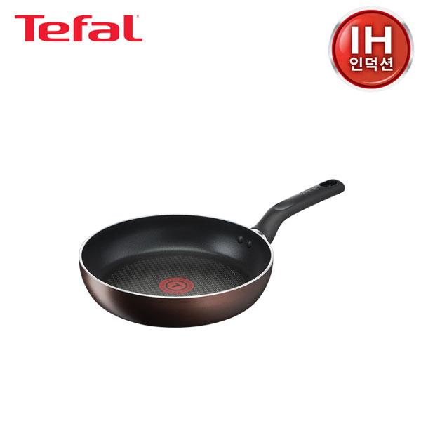 [테팔] 인덕션 초콜릿 티타늄 프로 프라이팬 24cm TFC-IC4