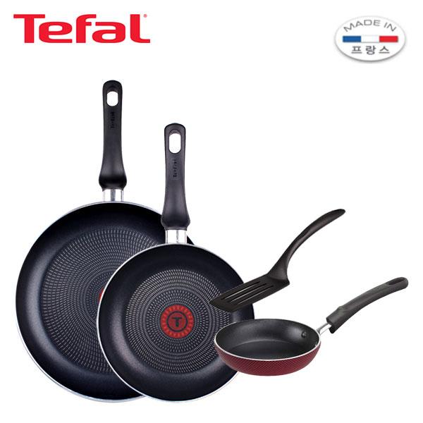 [테팔] 스페셜 프라이팬 실속 구성 3P+미니팬 12cm 세트 TFC-EL08STEP12