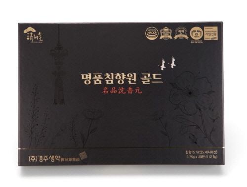 [경주생약] 청해솔 명품침향원 골드 3.75g X 30환 + 쇼핑백
