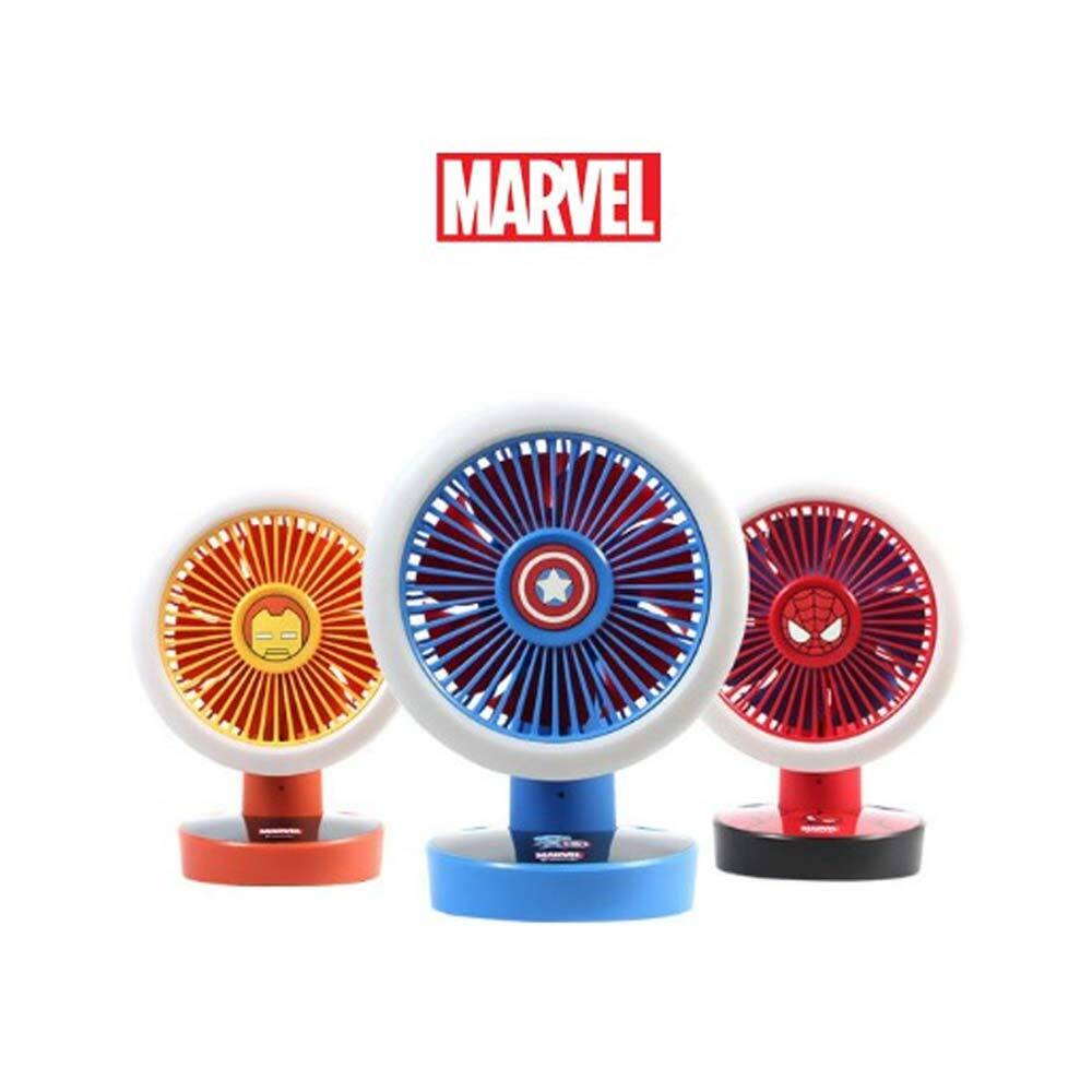 마블 어벤져스 LED 선풍기