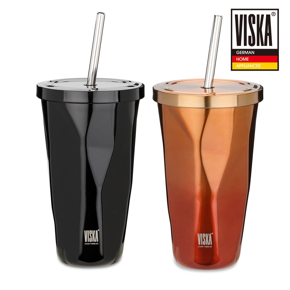 비스카 보냉보온 텀블러 VK-S100TBL / 블랙,레드 택1