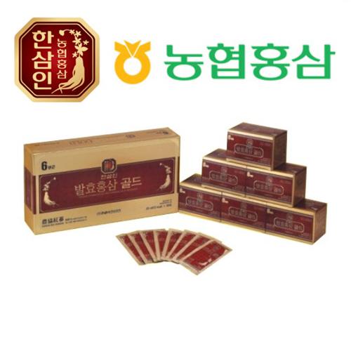 농협홍삼 한삼인 발효홍삼골드 20ml x 30포