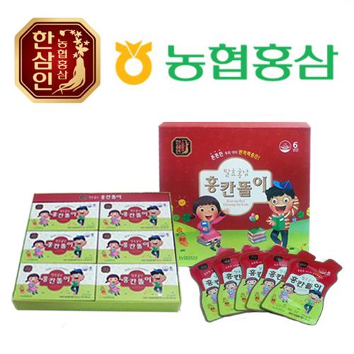 농협홍삼 한삼인 발효홍삼 홍칸똘이 20ml x 30포