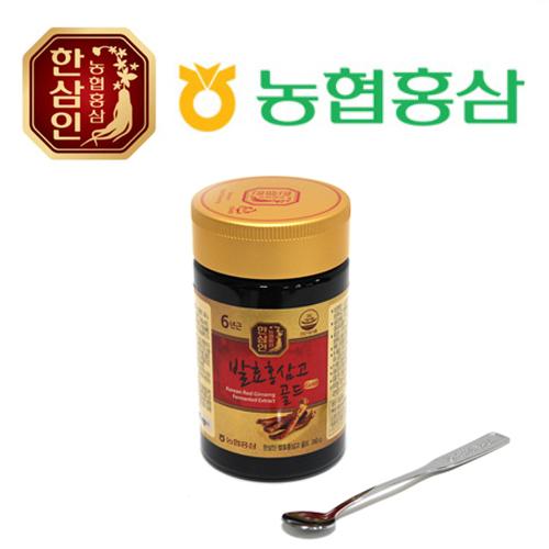 농협홍삼 한삼인 발효홍삼고골드 240g x 1병