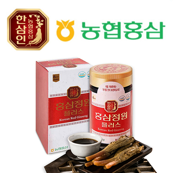 농협홍삼 한삼인 홍삼정원 플러스 250g x 1병