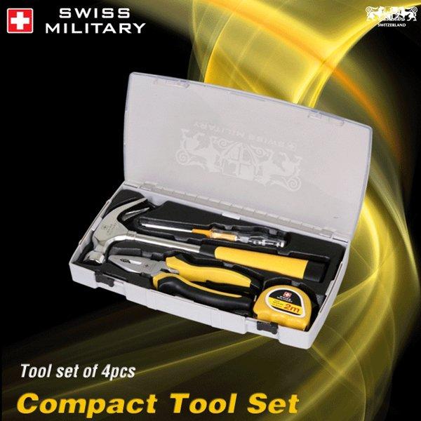 스위스밀리터리 4PCS 수공구세트 SMT-0015