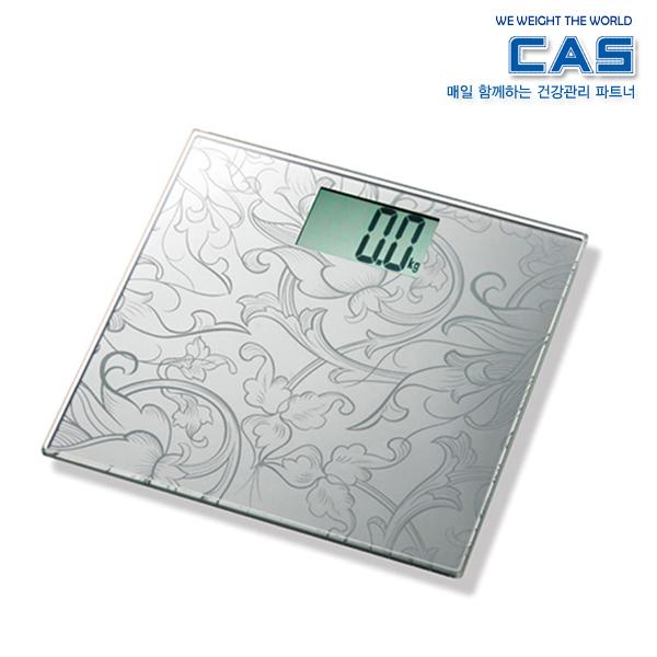 카스 대형 LCD 디스플레이 디지털 체중계 HE-15