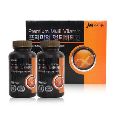 중외제약 프리미엄 멀티비타민 900mg(60정) x 2병 4개월분