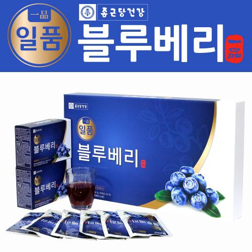 [종근당 건강] 일품 블루베리 70ml x 30포