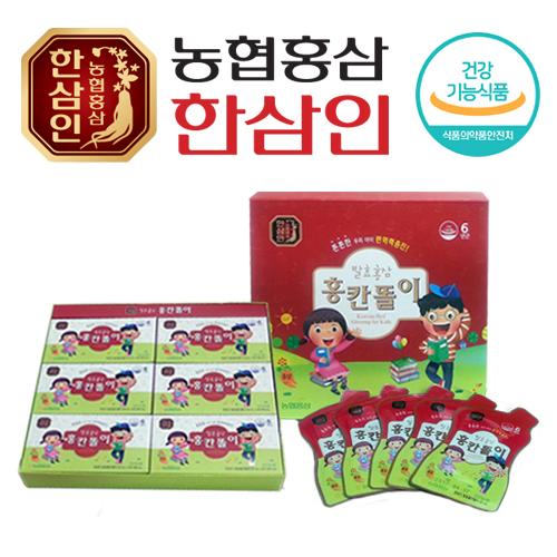 [농협 한삼인] 발효홍삼 홍칸똘이 20ml x 30포