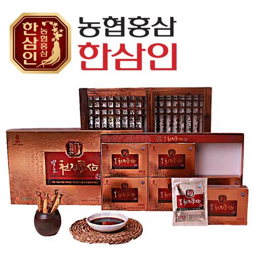 [농협 한삼인] 발효천지홍삼 45ml × 30포