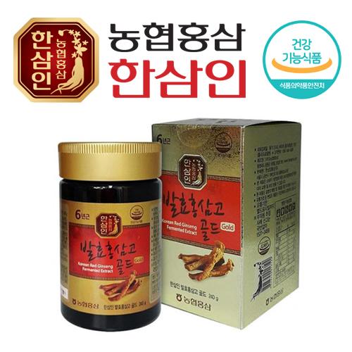 [농협 한삼인] 발효홍삼고골드 240g x 1병