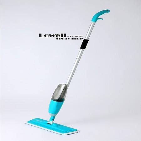 로웰 스프레이 맙 밀대 청소기(극세사 걸레 2장)