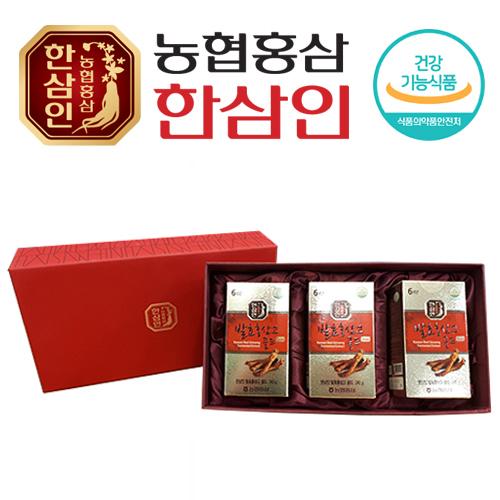 [농협 한삼인] 발효홍삼고골드 240g x 3병