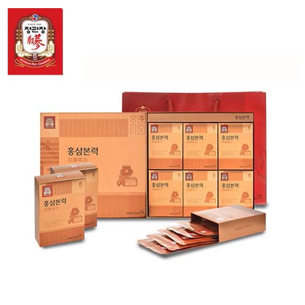 한국인삼공사 정관장 홍삼본력 40ml x 30포 + 쇼핑백