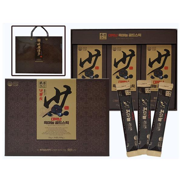 [에티나] 대박난 흑마늘 골드스틱 10g x 30포 + 쇼핑백