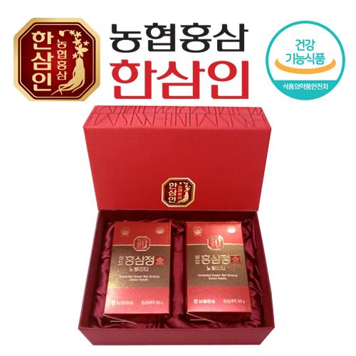 [농협 한삼인] 발효홍삼정 노빌리티 240g x 2병 + 쇼핑백 (100% 발효/홍삼농축액)