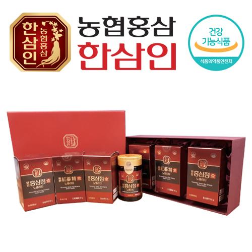 [농협 한삼인] 발효홍삼정 노빌리티 240g x 3병 + 쇼핑백 (100% 발효/홍삼농축액)