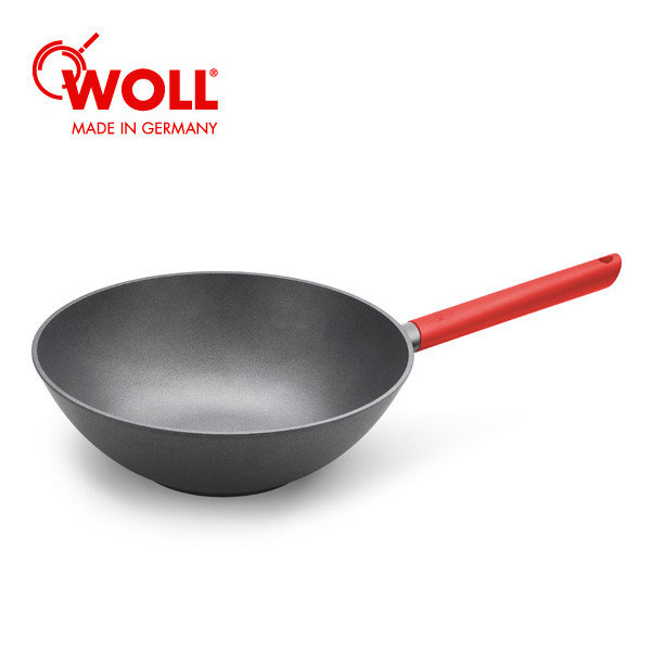 WOLL 저스트쿡 WOK 30cm (레드) 1p WOL1030JCR