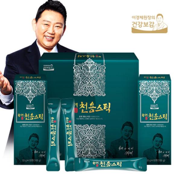 이경제원장 황제천용스틱 10g x 30포 + 쇼핑백