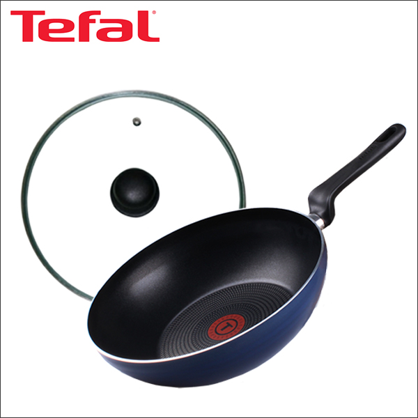 테팔 파워 블루 멀티팬 28cm + 유리뚜껑 28cm TFC-PBWG