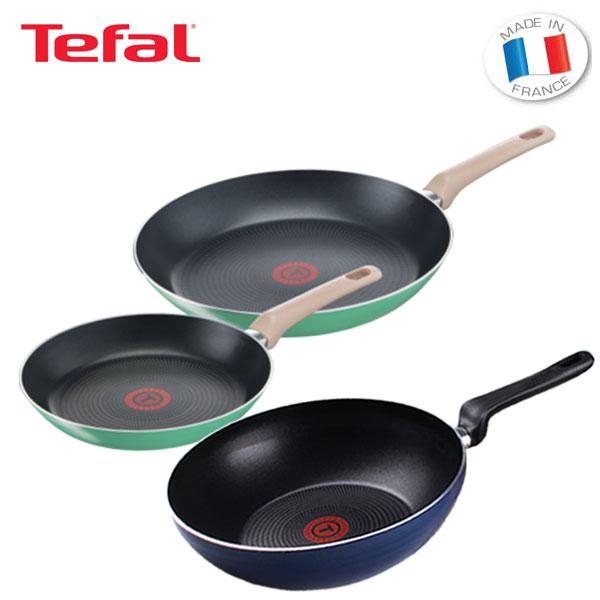 테팔 팬&냄비 PTFE 프레쉬무드 프라이팬 24cm+30cm+파워 블루 멀티팬 28cm TFC-FM430PBW
