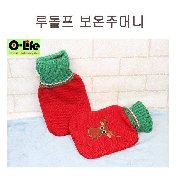 [O-life]  크리스마스 냉/온겸용 찜질 주머니 (루돌프)