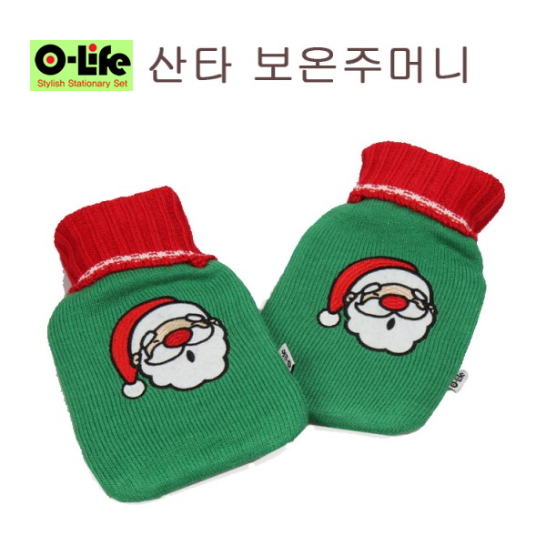[O-life]  크리스마스 냉/온겸용 찜질 주머니 (산타)