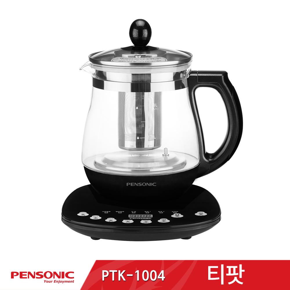 펜소닉 무선 티포트 티팟 1.8L PTK-1004(블랙)