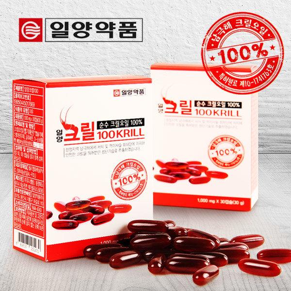 일양약품 크릴100 1000mg X 30캡슐(1개월분)