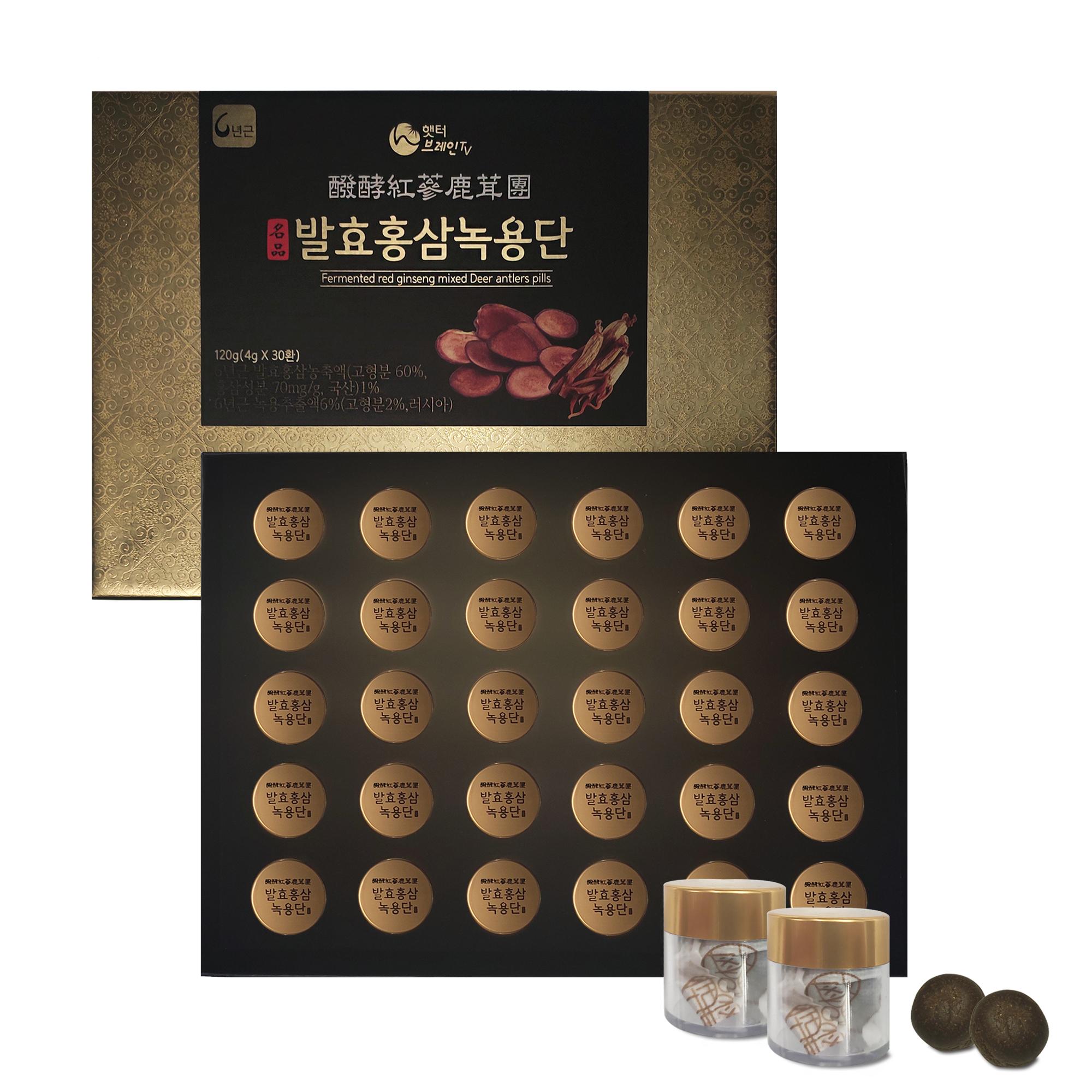 옻가네 발효홍삼 녹용단 4g x 30환