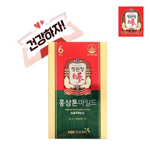 한국인삼공사 정관장 홍삼톤 50ml x 5포 + 쇼핑백