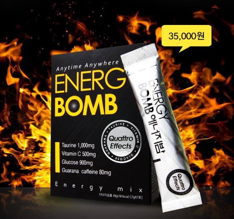 콰트로 에너지 에너지 BOMB 에너지밤 20포
