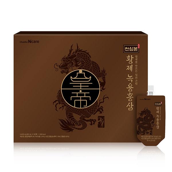 [천호엔케어] 천심본 황제녹용홍삼 80mL x 30포