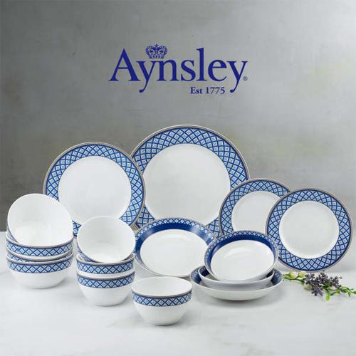 [Aynsley] 앤슬리 아스톤 블루 4인 디너 홈세트