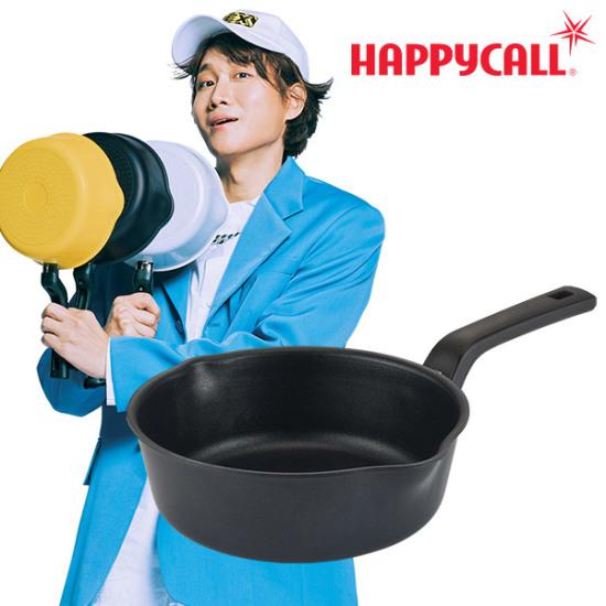 해피콜 플렉스 팬 IH 20cm 매트 블랙 3001-0435
