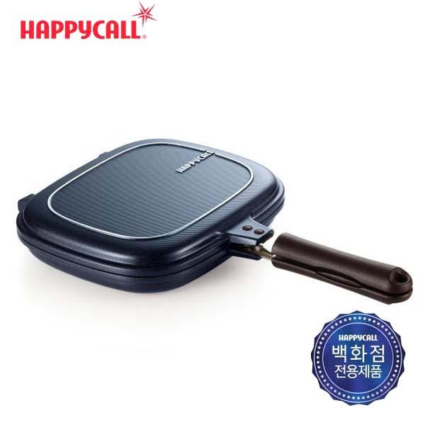 해피콜 클래식 빗살 생선팬/블루 3002-0120