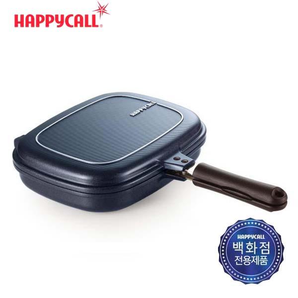 해피콜 클래식 빗살 점보그릴팬/블루 3002-0121