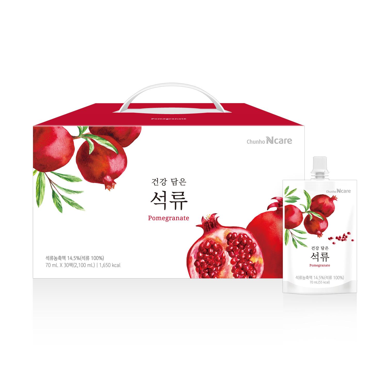 [천호엔케어] 건강 담은 석류 70mL x 30PACK