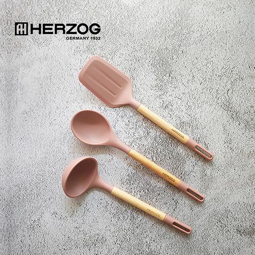 독일 헤르조그(HERZOG) 실리콘 쿠킹툴스 3종세트 MCHZ-EM011