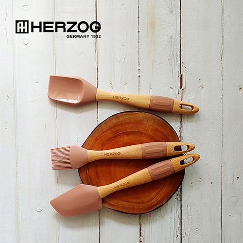 독일 헤르조그(HERZOG) 실리콘 베이킹 툴스 3종세트 MCHZ-EM012